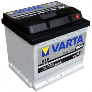 Varta Black Dynamic 45 А/ч EN400А о.п. (207х175х190, B13) B19 / 545 412 040