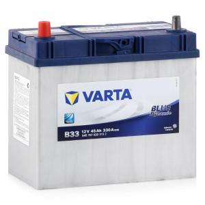 Varta Blue Dynamic 45 А/ч EN330А п.п. (238х129х227, B00) B33 / 545 157 033 узк.кл.