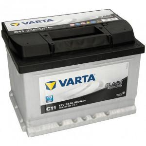 Varta Black Dynamic 53 А/ч EN480А о.п. (242х175х175, B13) C11 / 553 401 050