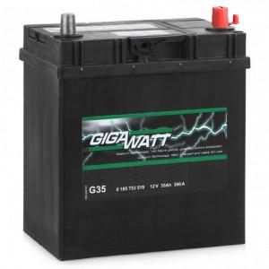 GIGAWATT 35 А/ч EN300А о.п. (187х127х227, B00) G35R / 535 118 030 узк.кл.