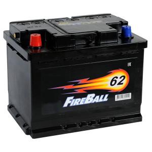 FIRE BALL 62Ач EN500А о.п. (242х175х190, B13)