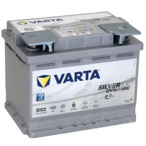 Varta Silver Dynamic AGM 60Ач EN680А о.п. (242х175х190. B13)
