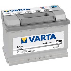 Varta Silver Dynamic 77Ач EN780А о.п. (278х175х190, B13) E44 / 577 400 078