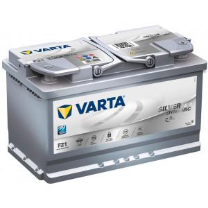Varta Silver Dynamic AGM 80Ач EN800А о.п. (315х175х190. B13)
